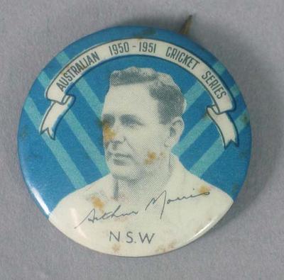 Badge, Arthur Morrison c1950