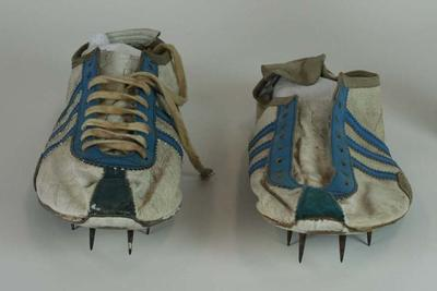 Running spikes worn by Herb Elliott, Rome Olympic Games, 1960