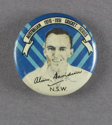 Badge, Alan Davidson c1950