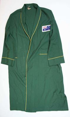 Robe worn by Herb Elliott, Rome Olympic Games, 1960; Clothing or accessories; 2007.380
