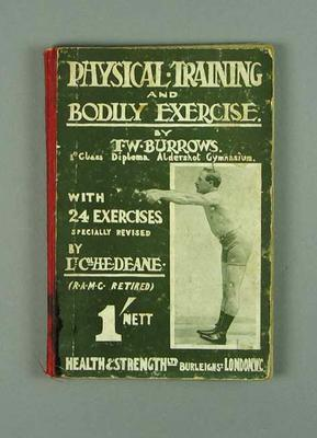 """Book, """"Physical Training and Bodily Exercise"""" c1930"""
