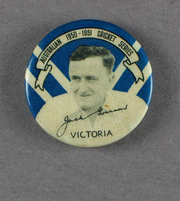 Badge, Jack Iverson c1950
