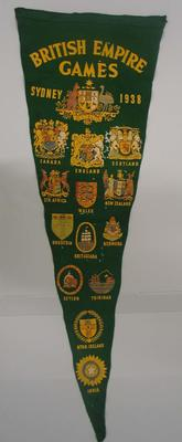Pennant, 1938 Empire Games - Sydney