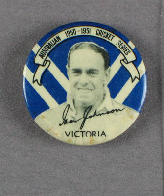 Badge, Ian Johnson c1950