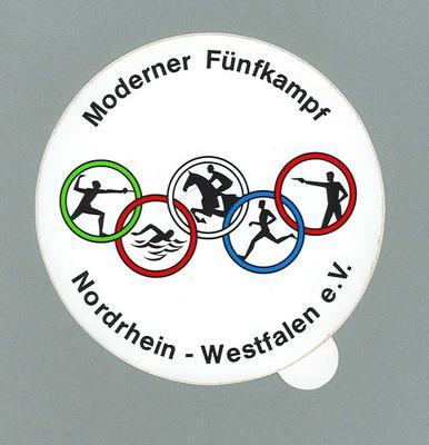 Sticker, Moderner Funfkampf Nordrhein - Westfalen e.V.