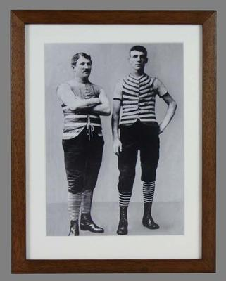 Reproduction photograph of Henry and Joe McShane, circa1900s