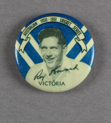 Badge, Roy Howard c1950