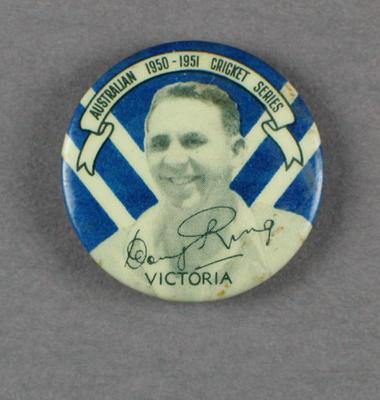 Badge, Doug Ring c1950