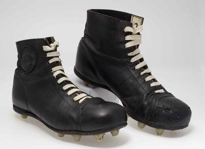 Boots worn by Bill Hutchison