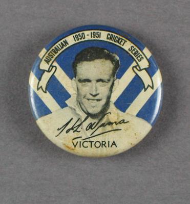 Badge, Herbert Numa c1950