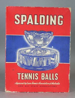 Spalding Tennis Ball box