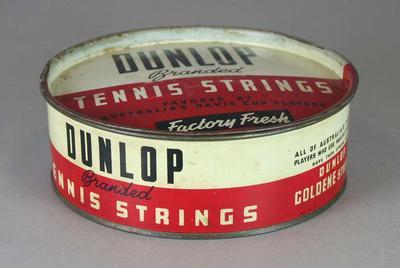 Metal tin for Dunlop Tennis String