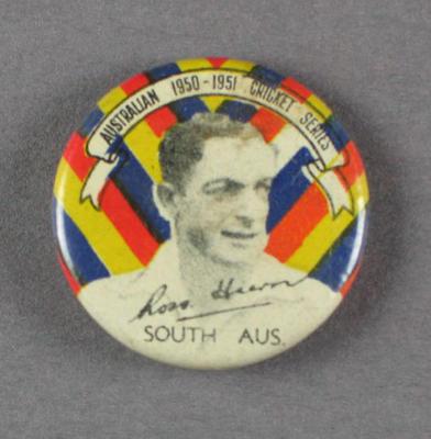 Badge, Ross Hiern c1950