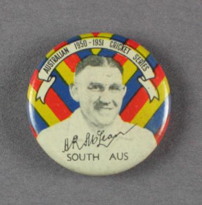 Badge, Allan McLean c1950