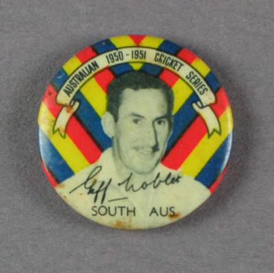 Badge, Geff Noblet c1950