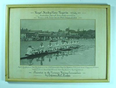 Australian Imperial Forces Eight, Royal Henley Regatta 1919