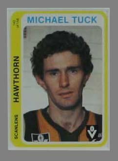 1979 Scanlens (Scanlens) Australian Football Michael Tuck Trade Card