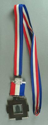 ANZAC Day medal awarded to James Hird. Match played on Friday 25 April 2003 between Essendon and Collingwood.