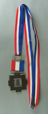 ANZAC Day medal awarded to James Hird. Match played on Sunday 25 April 2004 between Essendon and Collingwood