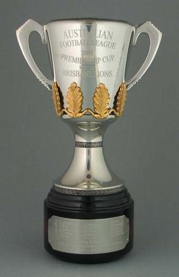 Miniature replica of AFL Premiership Cup, 2001