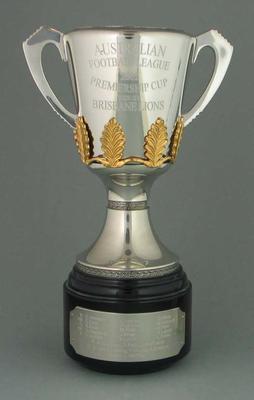 Miniature replica of AFL Premiership Cup, 2002