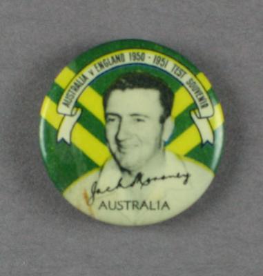 Badge, John Moroney c1950
