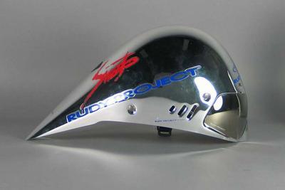 Aerodynamic road time trial helmet, c. 2008