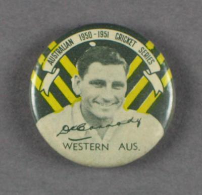 Badge, Keith Carmody c1950