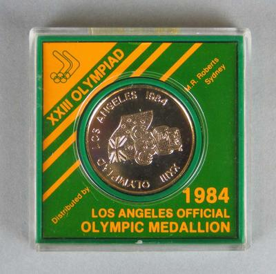 XXIII Olympiad 1984 Los Angeles Official Olympic Medallion