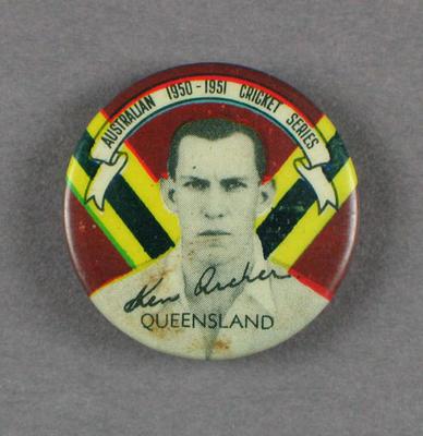 Badge, Ken Archer c1950
