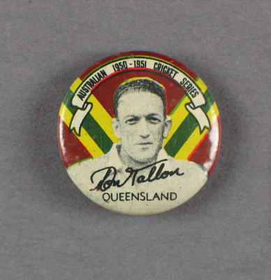 Badge, Don Tallon c1950