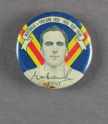 Badge, Godfrey Evans c1950