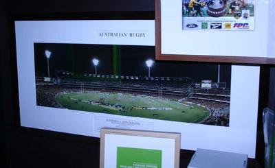 Photograph - Australia v New Zealand, 1997 Bledisloe Cup at MCG on 26 July