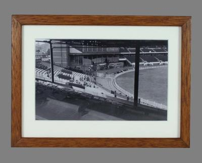 Facsimile photograph, depicts MCG during World War II occupation