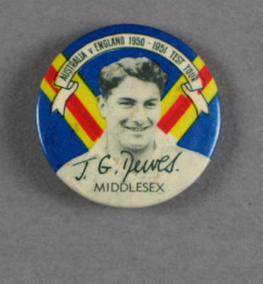 Badge, John Dewes c1950