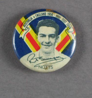 Badge, Reg Simpson c1950