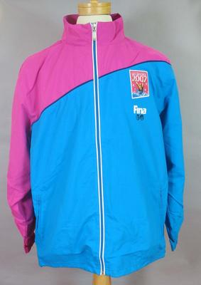 2007 FINA World Championships jacket, part of Volunteers uniform; Clothing or accessories; 2008.150.3