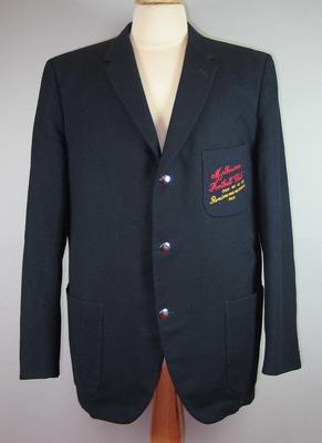 Melbourne Football Club blazer worn by Norm Smith