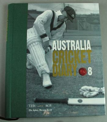Australian Cricket Diary 2008, published by Loungueville Books