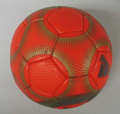 Handball made by Adidas, used during competition at Sydney 2000 Olympic Games.