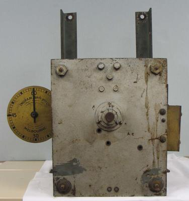 Clock movement from the old MCG scoreboard,made by Ingram Brothers