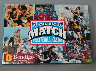 "Board game, ""The Big Match"""