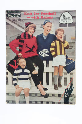 Patons knitting book, No. C.17 - 'Knit for Football'