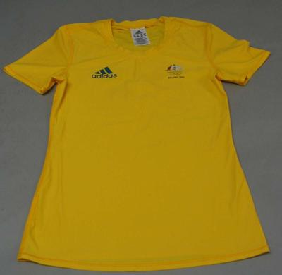 Team t-shirt worn by Jacqui Lawrence, 2008 Beijing Olympic Games