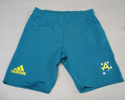 Team shorts worn by Jacqui Lawrence, 2008 Beijing Olympic Games