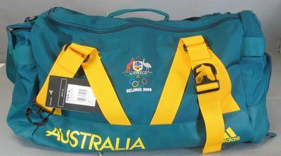 Unused Australian travel bag, 2008 Beijing Olympic Games