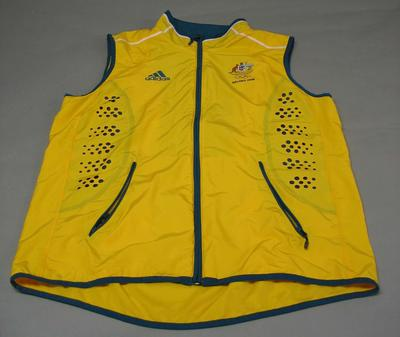 Rowing vest worn by Drew Ginn, 2008 Beijing Olympic Games