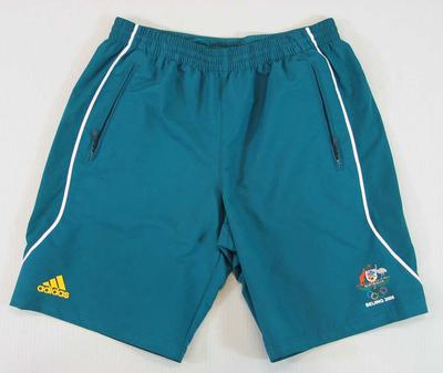 Shorts worn by Drew Ginn, 2008 Beijing Olympic Games