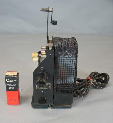 Handheld projector, used by Donald Bradman