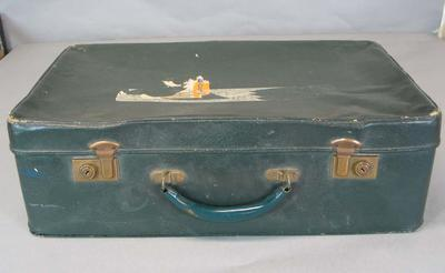 Suitcase, used by Donald Bradman